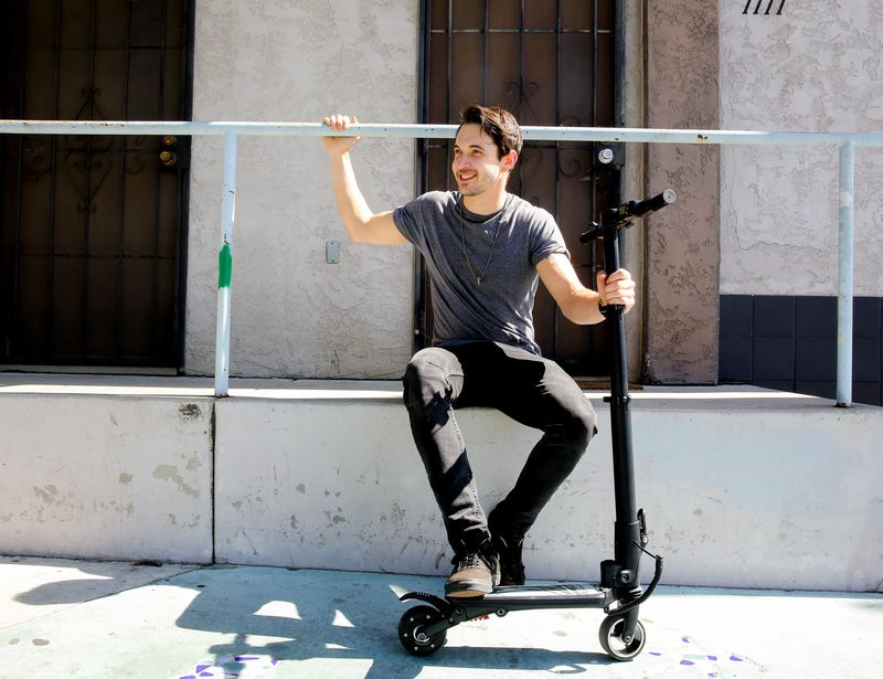 Backpack-Sized Electric Scooters