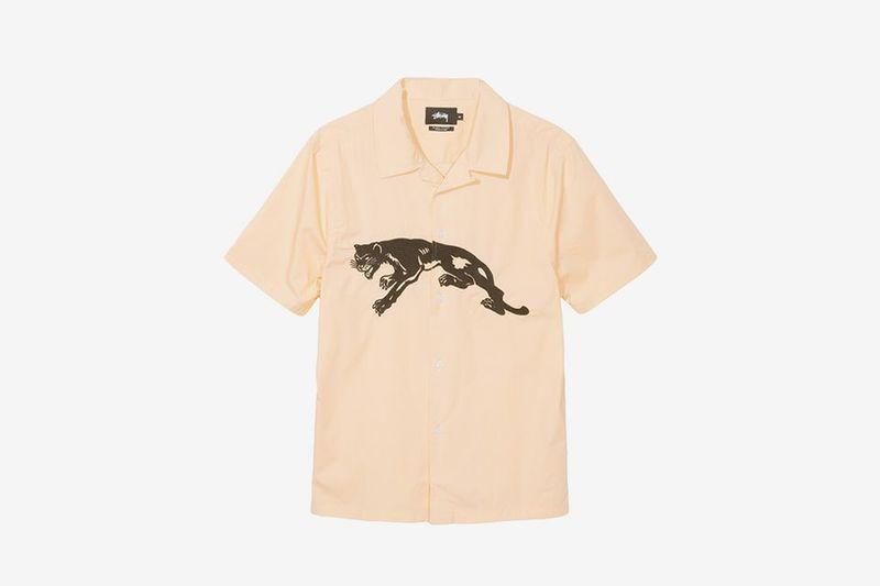 Minimal Animal Print Streetwear