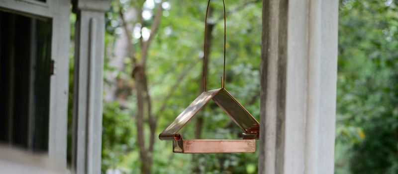 Minimalist Bird Feeders