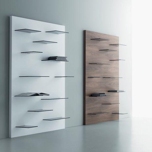 Uneven Minimalist Bookcases & Uneven Minimalist Bookcases : minimalist bookcase