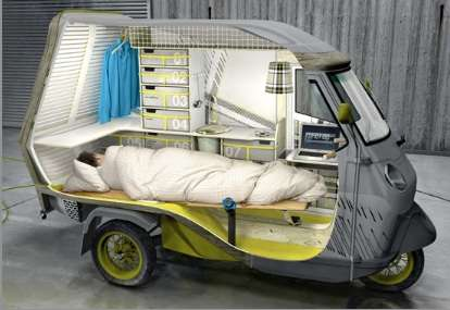 minimal compact campers the bufalino camper for the minimalist