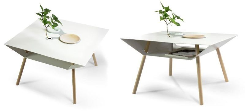 Personalized Storage Tables Minimalist Coffee Tables