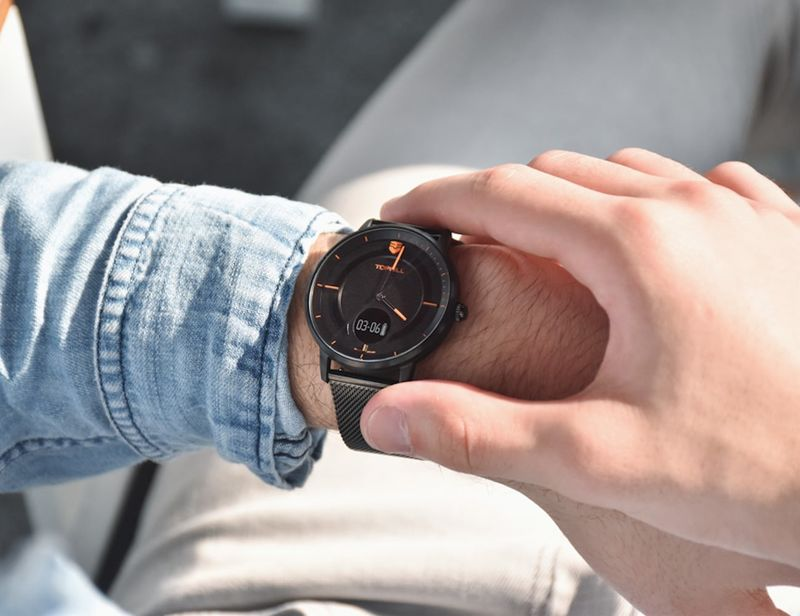 Disguised Smartwatch Timepieces