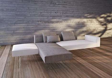 Floating Block Sofas