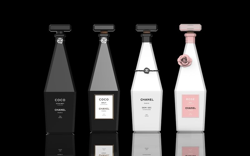Perfume-Inspired Champagne Concepts