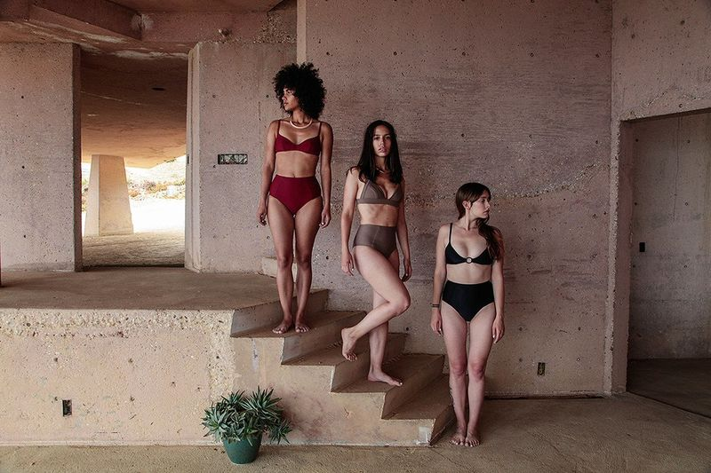 Recycled Minimalist Swimsuits