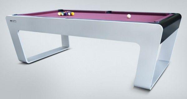 Genial Minimalist Billiard Tables