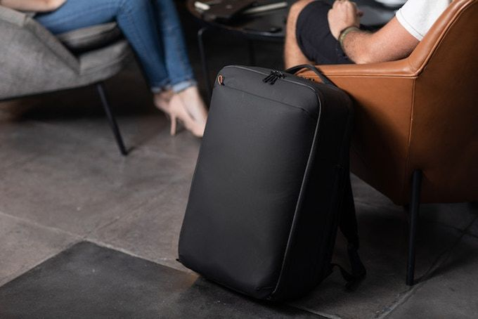 Technical Minimalist Travel Backpacks