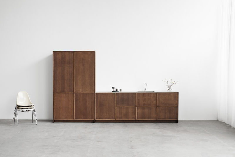 Minimalist Wooden Kitchen Furniture
