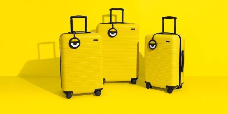 Cartoon-Themed Luggage