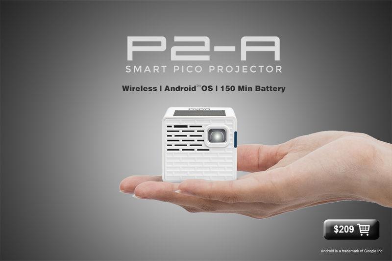Miniscule Pico Projectors