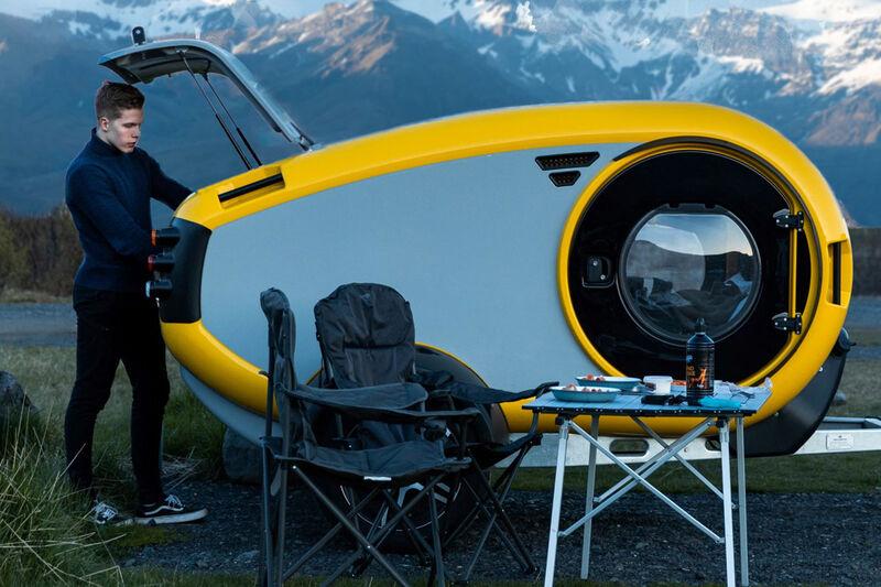 All-Terrain Camping Trailers