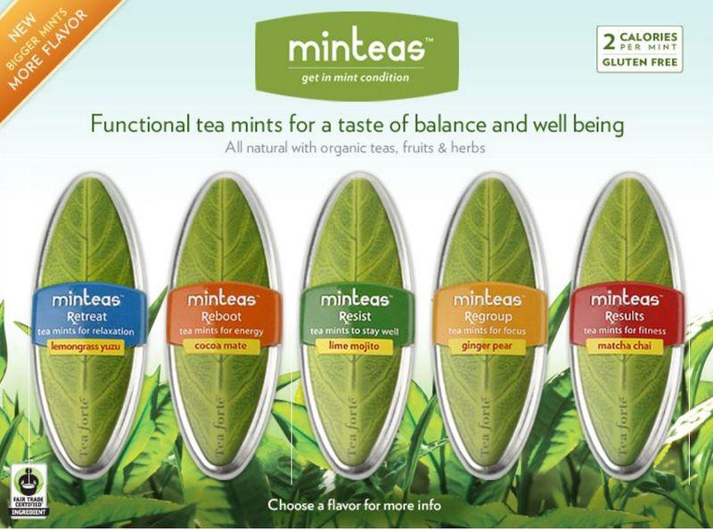 Leafy Mint Branding
