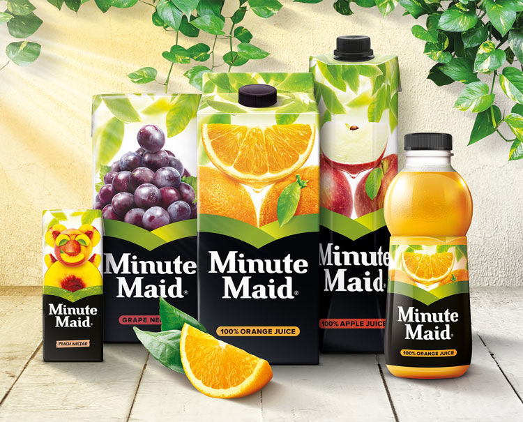 Contemporary Juice Rebrandings
