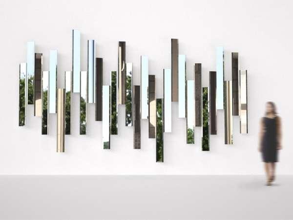 Modular Mirror Installations Mirage By Tokujin Yoshioka