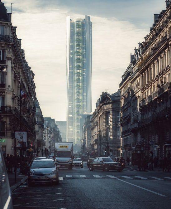 Reflective Skyscraper Concepts