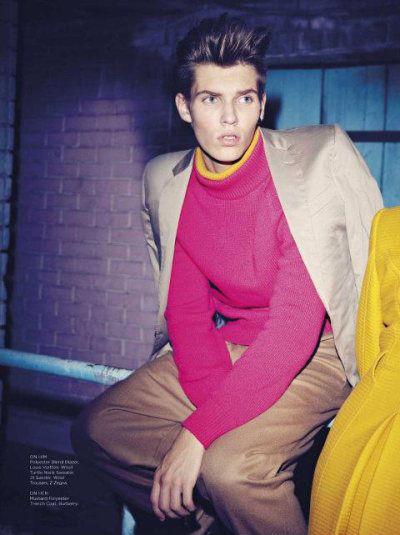 Fuchsia Menswear Captures