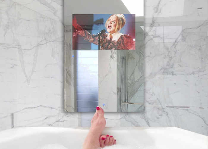 Waterproof Touchscreen Display Mirrors
