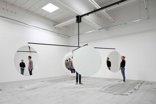 Mirrored Art Installations