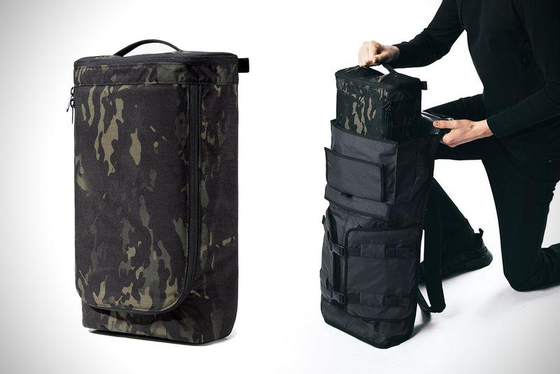 Reconfigurable Shutterbug Bags