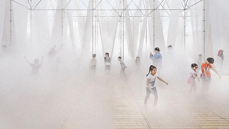 Micro-Climate Mist Structures