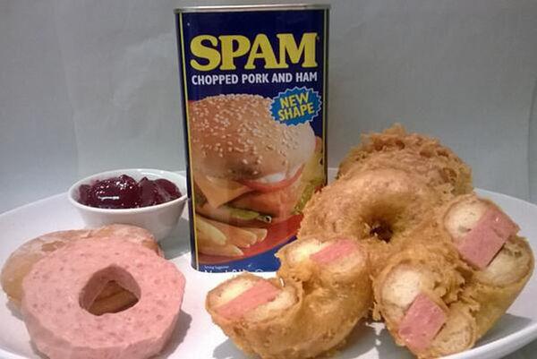 Strange Spam Donuts