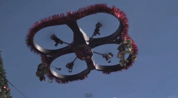 Romantic Holiday Mistletoe Drones