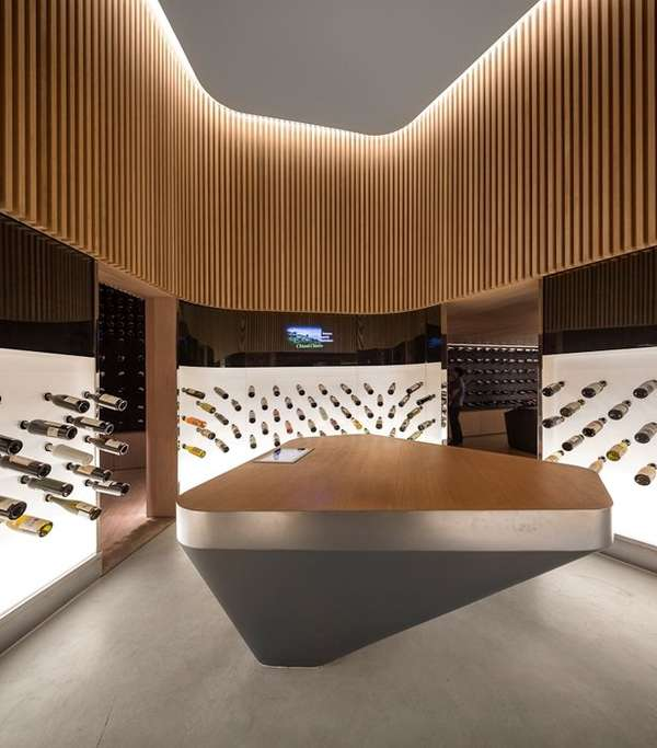 Modern Alcohol Shops : Mistral Wine And Champagne Bar