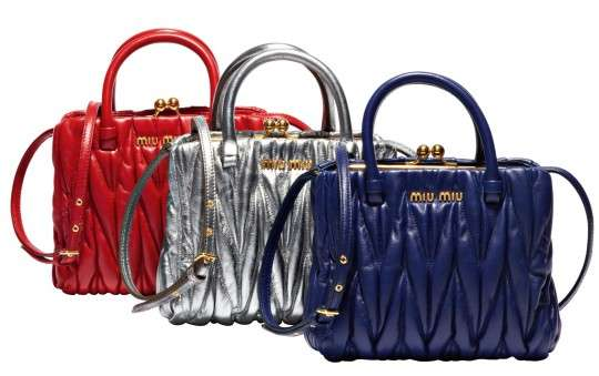 80f0cc16be33 Haute Handbag Replicas   Miu Miu Gifts Collection 2011