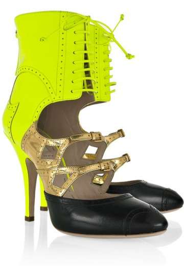 Coquettish Cut-Out Boots