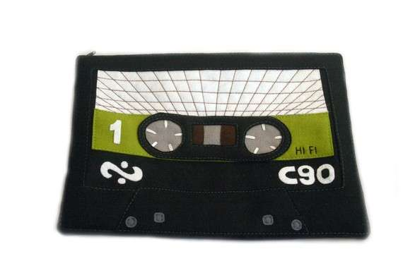 Retro Cassette Tape Covers