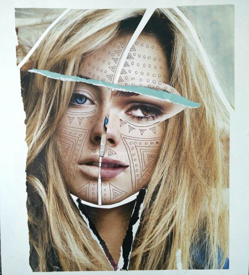 Mixed Media Photomontages