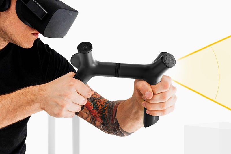 Modular Multifunctional VR Controllers