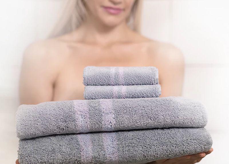 Bacteria-Free Bath Towels