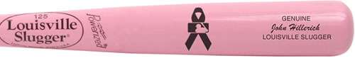 MLB and Louisville supports Breast Cancer with Pink Bats