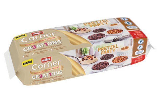 Pretzel-Paired Yogurts