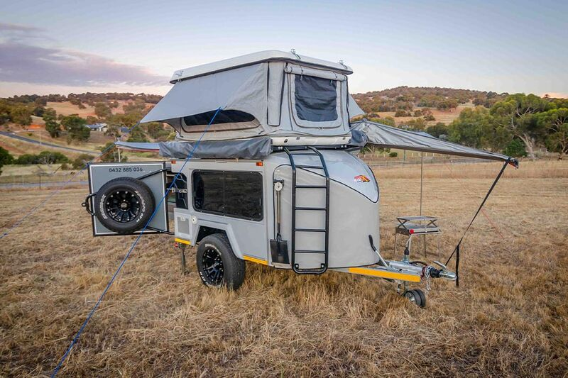 Rooftop Tent Camping Trailers