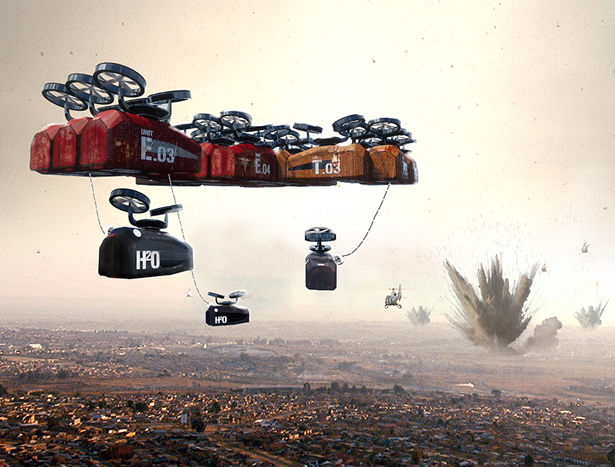 Flying Hospital Pods