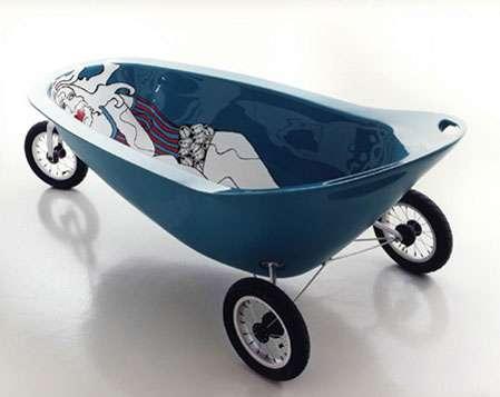 Mobile Bath Tub