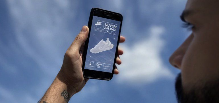 AR Sneaker-Finding Campaigns : mobile campaign