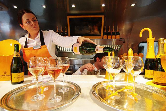 Mobile Champagne Bars