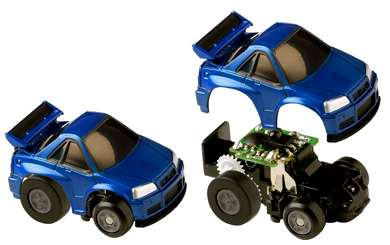 Mobile Phone Controlled Car