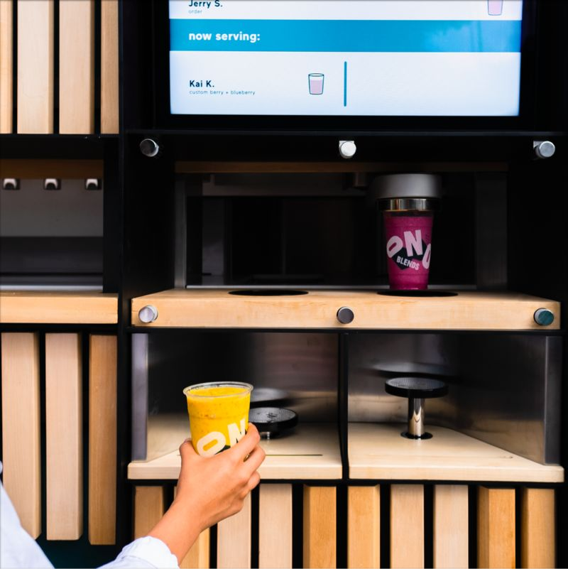 Robot-Run Mobile Restaurants