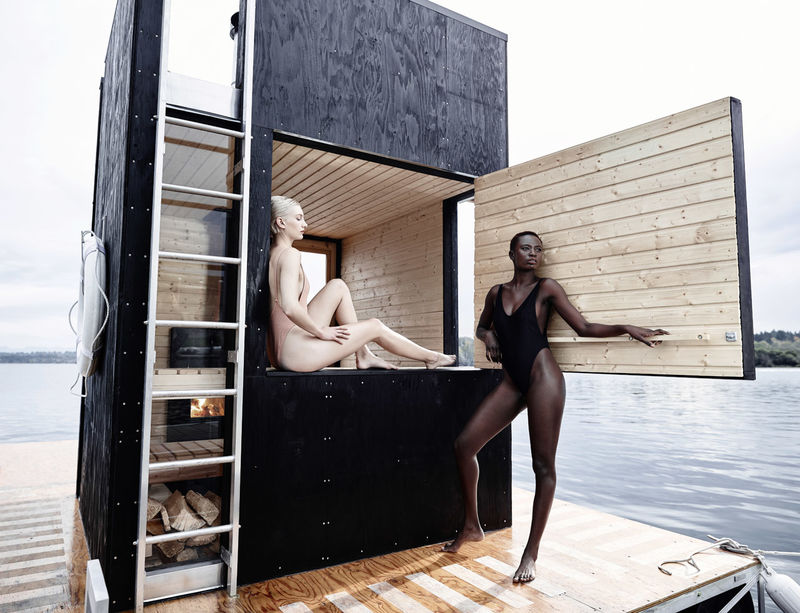 Floating Sauna Structures