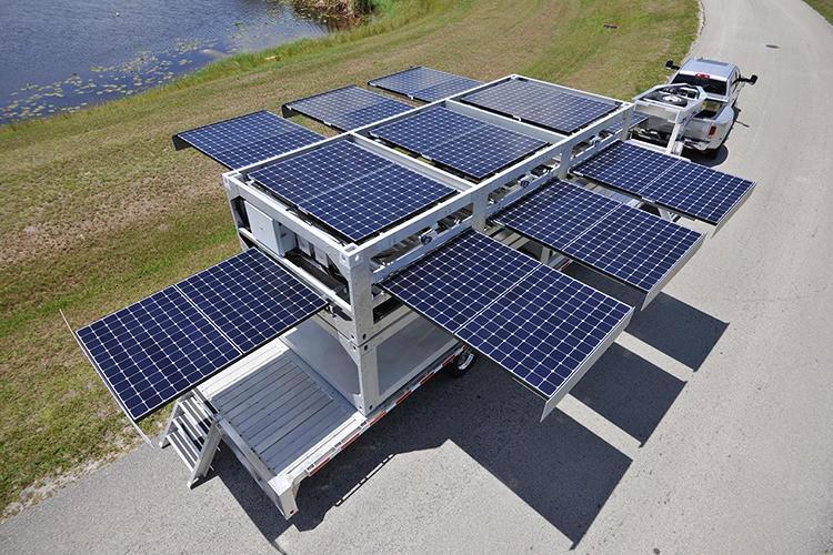 Pop-Up Solar Generators