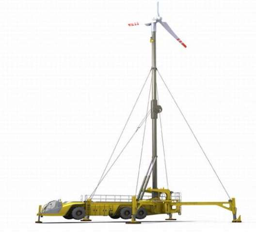 Mobile Wind Power Plants