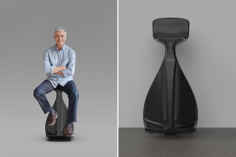 Upright Self-Balancing Scooters
