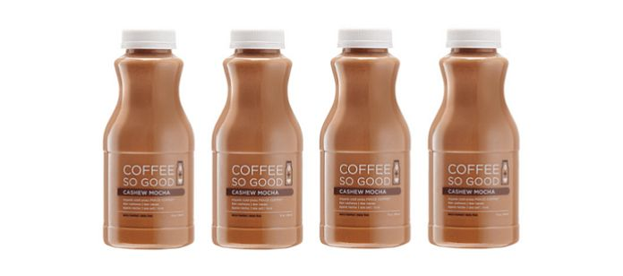 Nut Milk Cold-Pressed Coffees