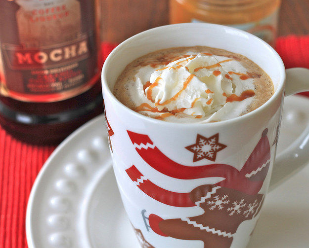 Boozy Chocolate Coffees