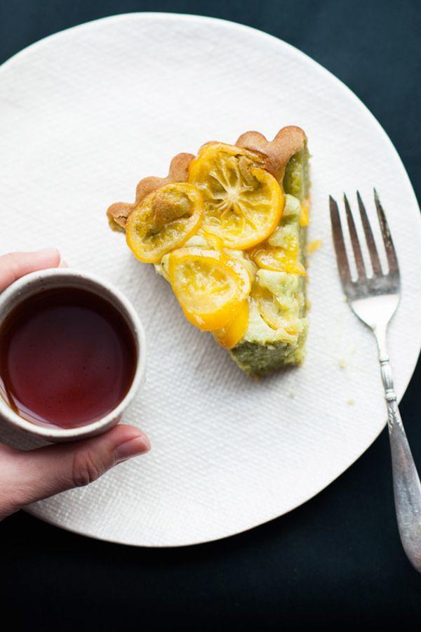 Lemon Matcha Desserts